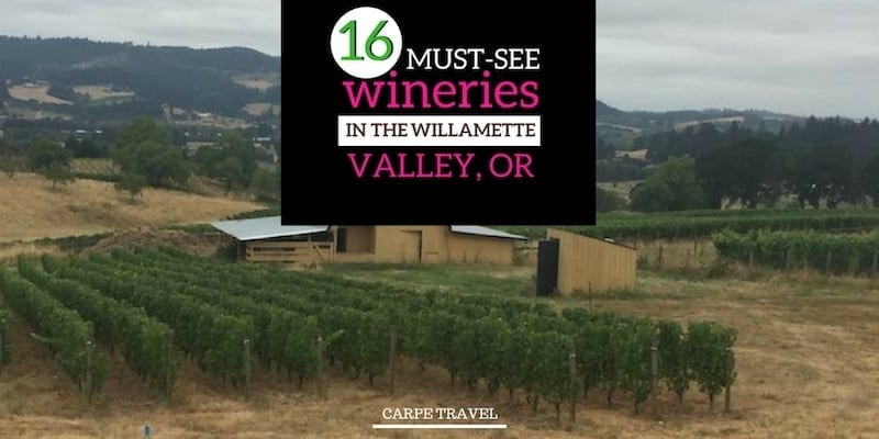 16 Wineries. Four Days. The Ultimate Willamette Valley Itinerary for Wine Lovers